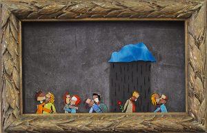 QUALCUNO HA PRESO IL PACCO, Luca Barberini, 2015